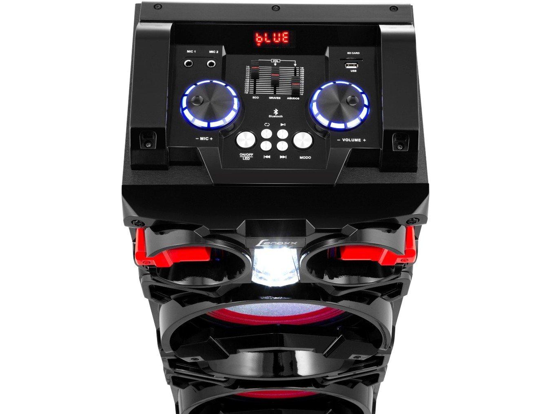 Caixa de Som Bluetooth Lenoxx CA 3900 Portátil - Amplificada 800W USB Preta - Bivolt - 2