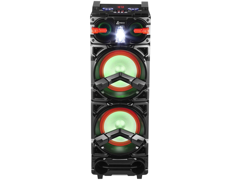 Caixa de Som Bluetooth Lenoxx CA 3900 Portátil - Amplificada 800W USB Preta - Bivolt - 4