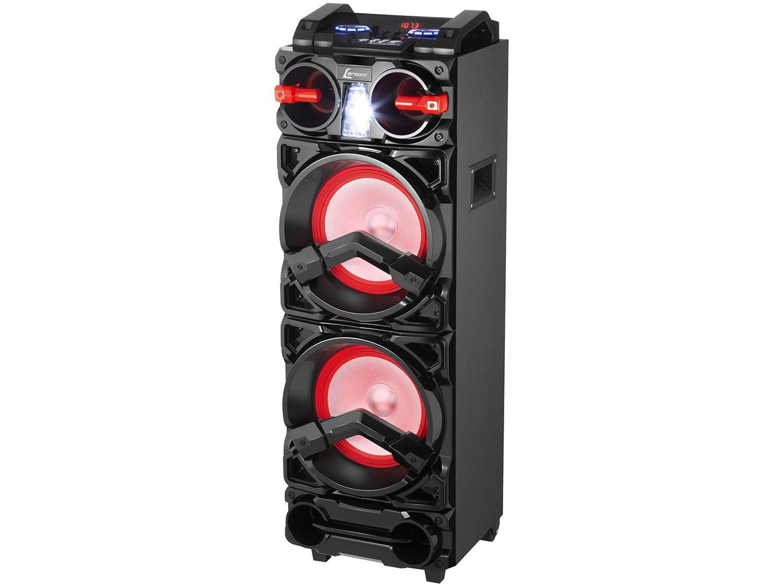 Caixa de Som Bluetooth Lenoxx CA 3900 Portátil - Amplificada 800W USB Preta - Bivolt - 6