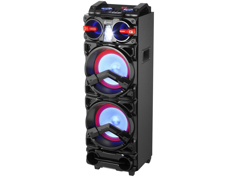 Caixa de Som Bluetooth Lenoxx CA 3900 Portátil - Amplificada 800W USB Preta - Bivolt - 8