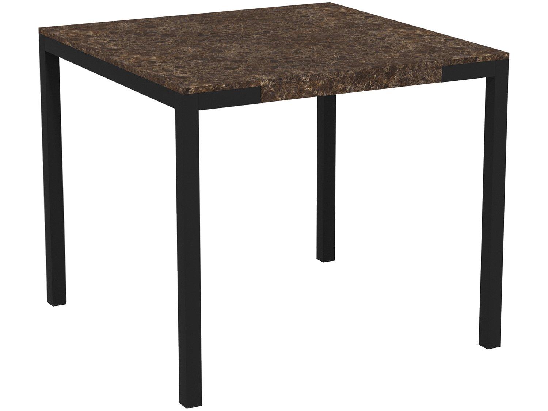 Foto 2 - Mesa de Jantar com 6 Cadeiras Retangular - Móveis Carraro Karina