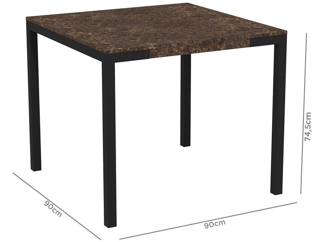 Foto 6 - Mesa de Jantar com 6 Cadeiras Retangular - Móveis Carraro Karina