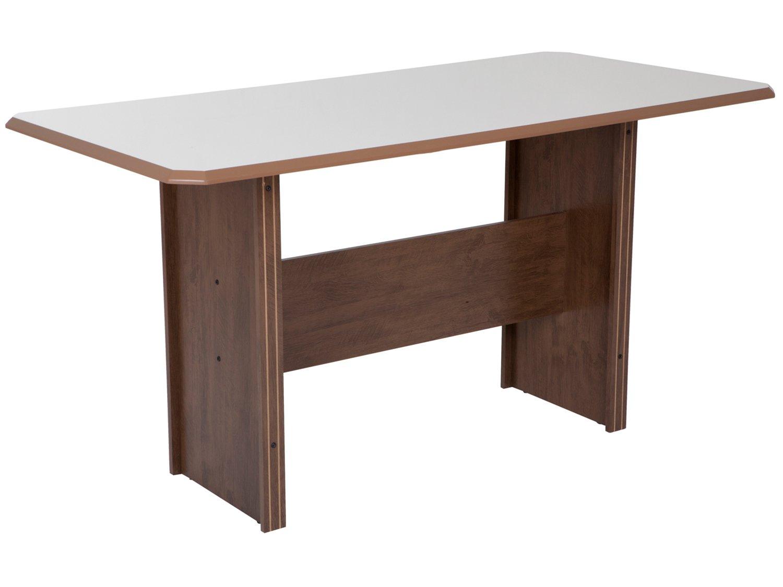 Foto 4 - Mesa de Jantar 6 Cadeiras Retangular Indekes - Cristal