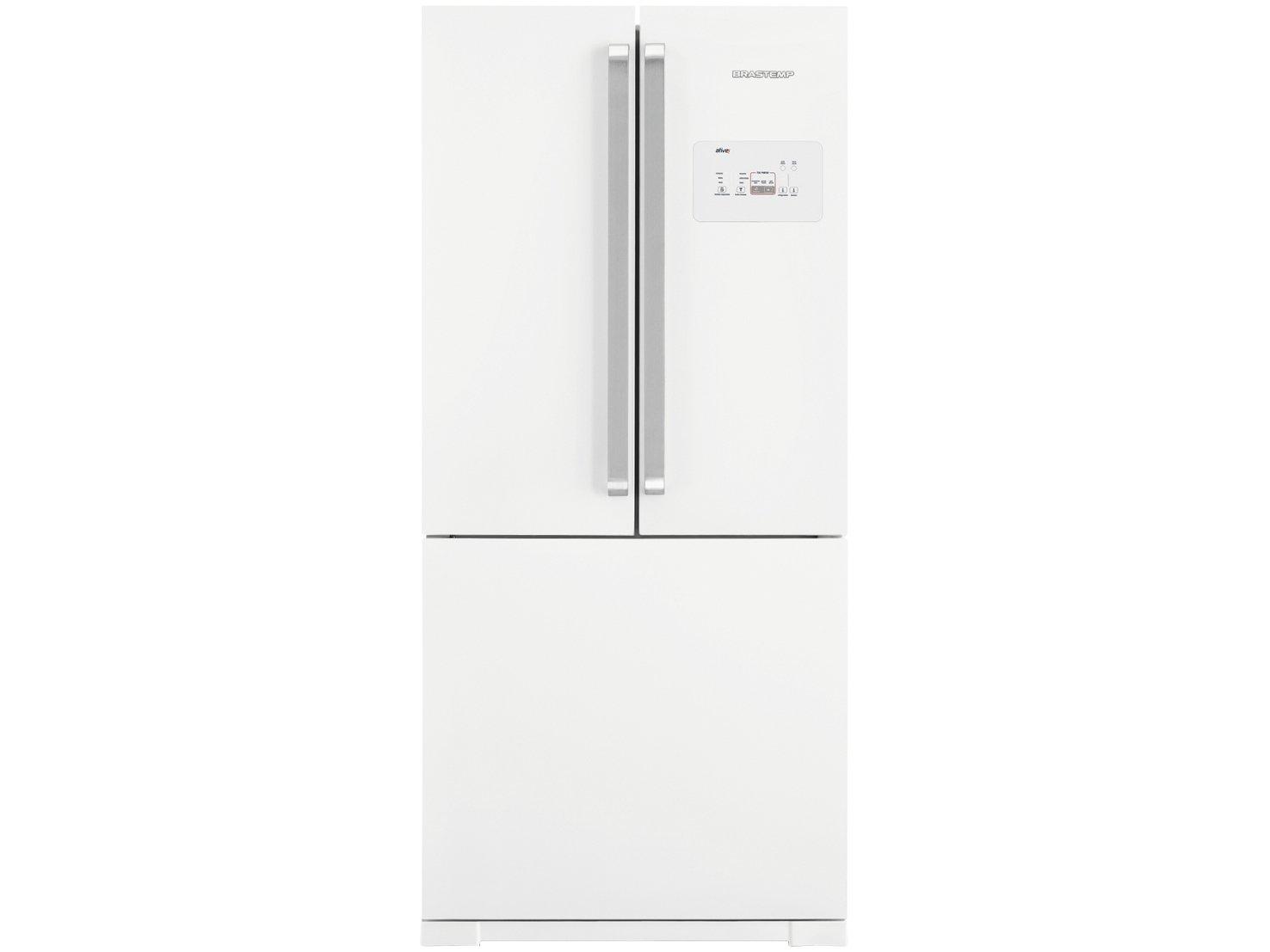 Refrigerador Brastemp Side Inverse BRO80AB Branco - 540L - 110v
