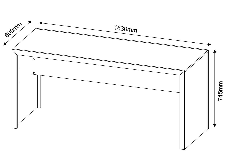 Mesa para Computador/Escrivaninha - Tecno Mobili ME 4109 - 2