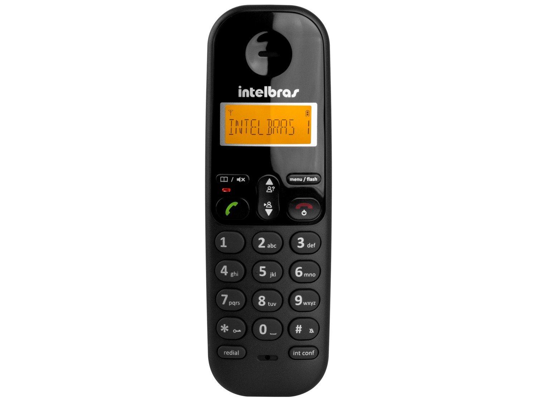 Telefone sem Fio Intelbras TS 3110 com Display luminoso, Identificador de Chamada e Tecnologia DECT 6.0 - Preto - 6