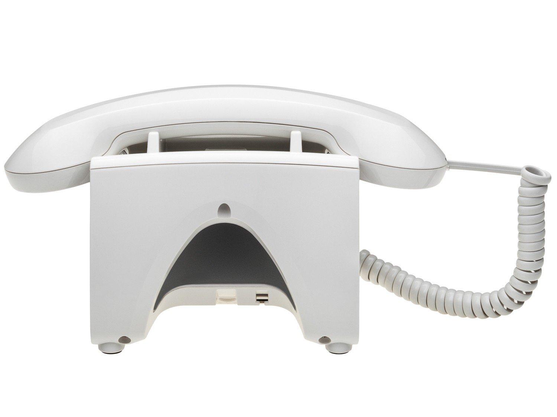 Telefone Com Fio Intelbras TC 8312 - Identificador de Chamada Viva Voz Branco - 12