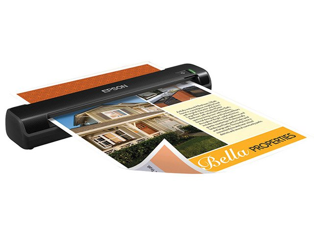 Foto 1 - Scanner Portátil Epson Scanner WorkForce DS-30 - Colorido 600dpi Alimentador Automático