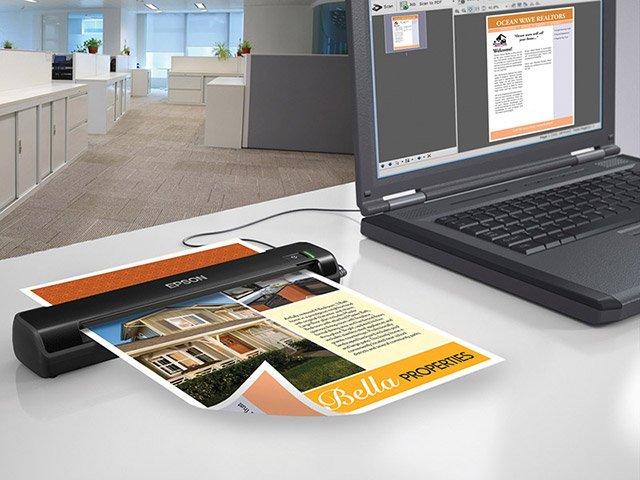 Foto 7 - Scanner Portátil Epson Scanner WorkForce DS-30 - Colorido 600dpi Alimentador Automático