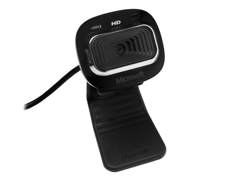 Foto 1 - Webcam Microsoft LifeCam HD-3000 - Resolução HD Zoom 4X