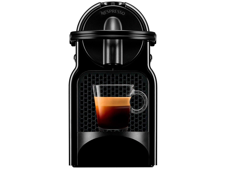 Cafeteira Nespresso Inissia D40 com Kit Boas Vindas - Preta - 110V