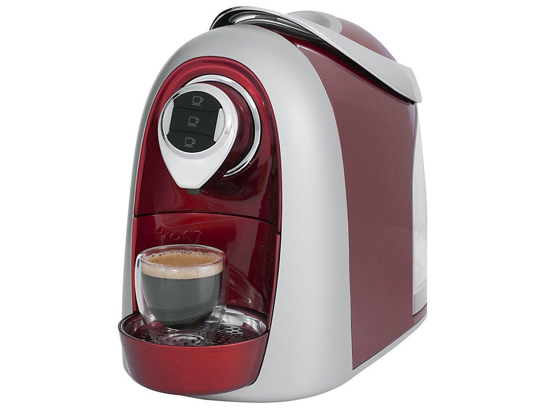 Máquina de Café Expresso Multibebidas TRES Modo S04 – Vermelho - 110V