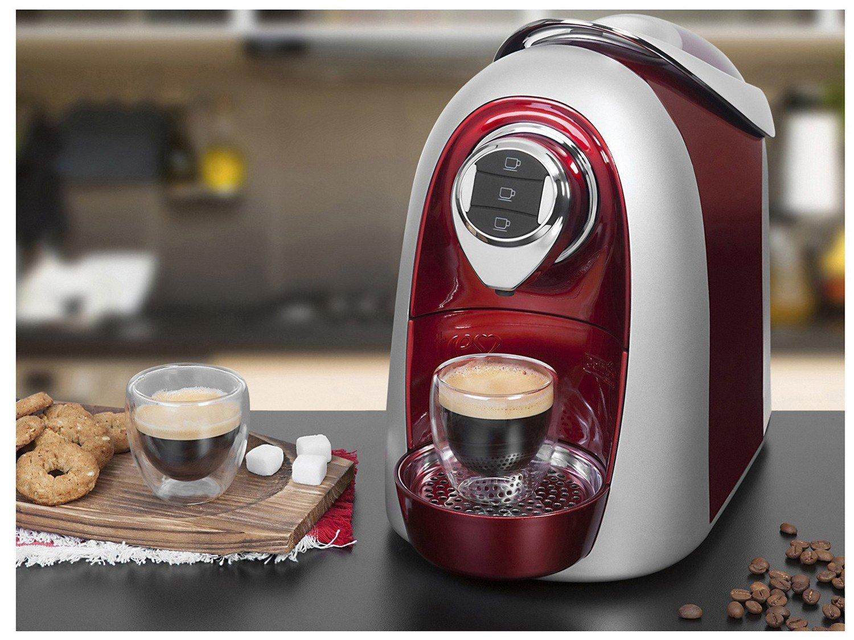 Máquina de Café Expresso Multibebidas TRES Modo S04 – Vermelho - 110V - 2