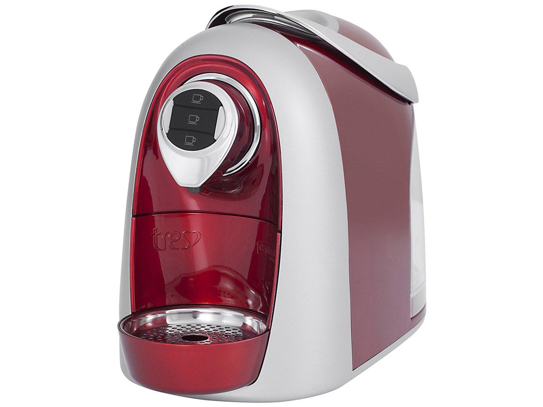 Máquina de Café Expresso Multibebidas TRES Modo S04 – Vermelho - 110V - 4