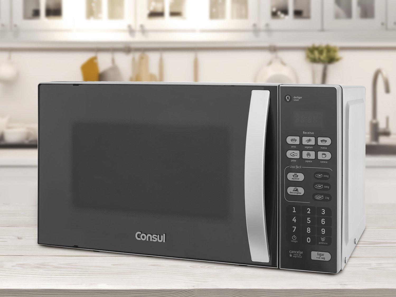 Forno de Micro-ondas Consul CM020BF com Menu Uso Fácil - 20 L - 110v - 4