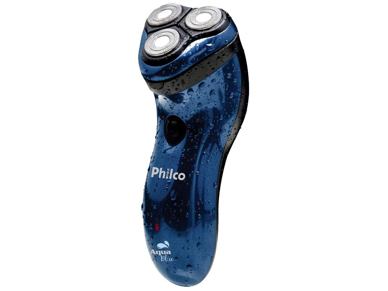 Barbeador Elétrico Philco Aqua Bue Seco e Molhado - 1 Velocidade - Bivolt