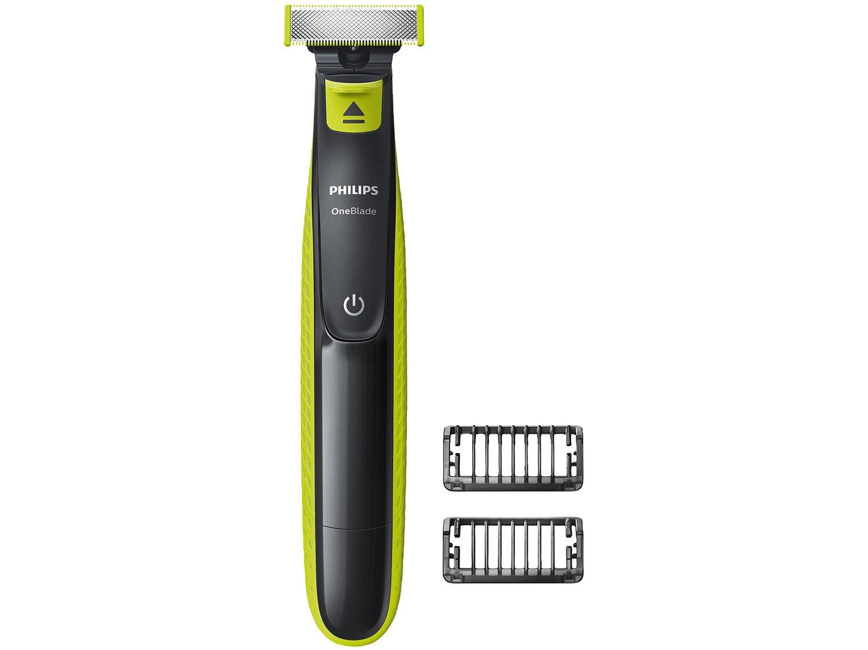 Barbeador Philips OneBlade QP2521/10 - Seco e Molhado 2 Pentes - Bivolt