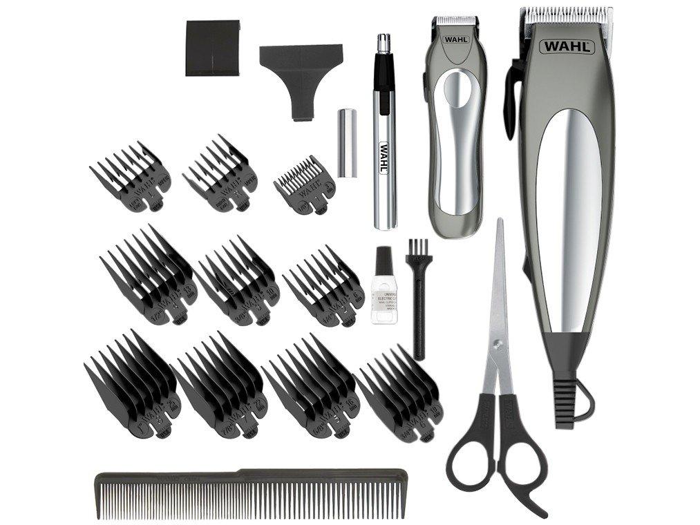 Kit Aparador de Cabelo e Pelos Wahl Deluxe Groom Pro 79305 - Cinza - 220V - 5