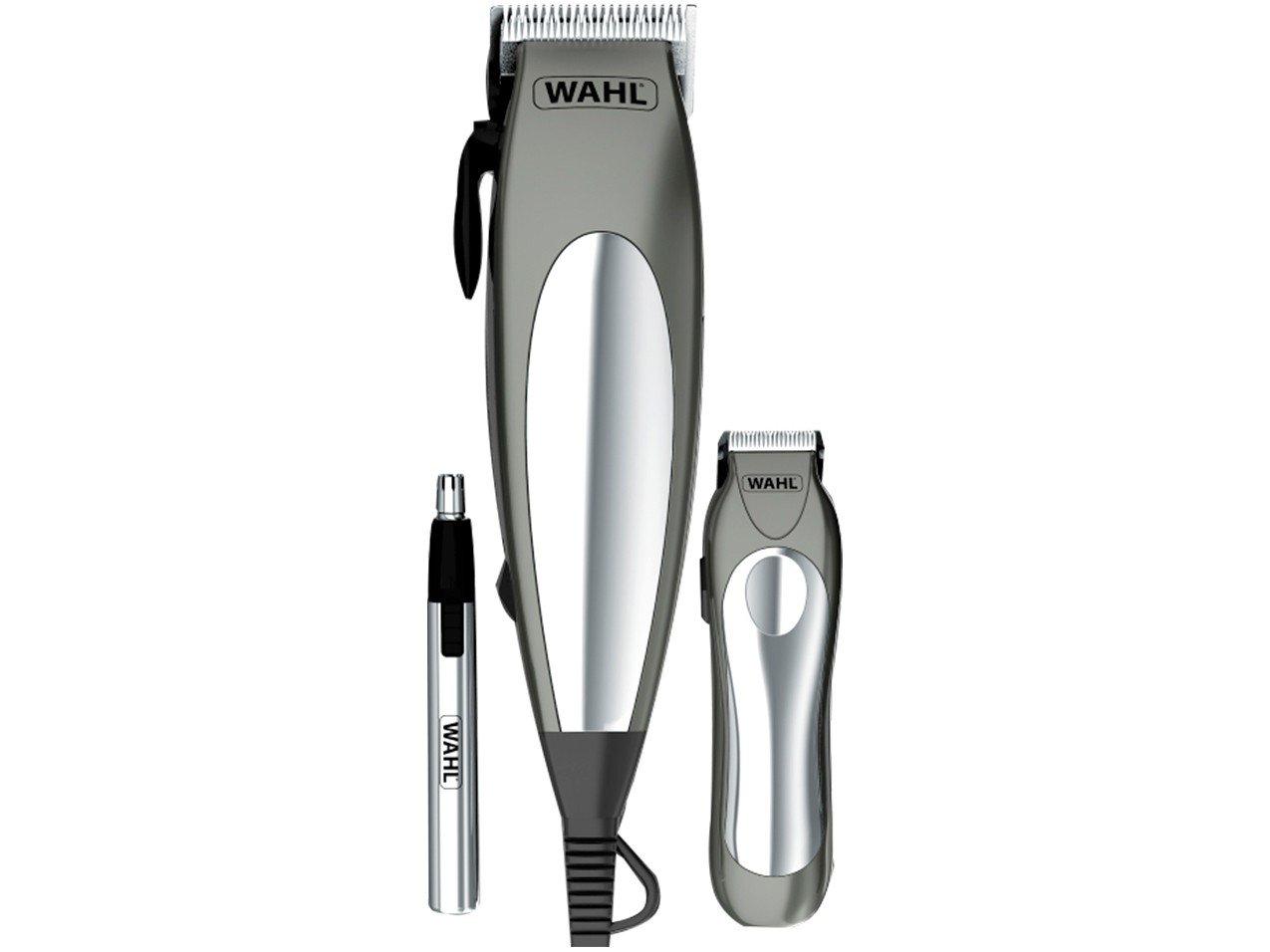 Kit Aparador de Cabelo e Pelos Wahl Deluxe Groom Pro 79305 - Cinza - 220V - 8