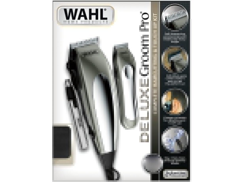 Kit Aparador de Cabelo e Pelos Wahl Deluxe Groom Pro 79305 - Cinza - 220V - 11