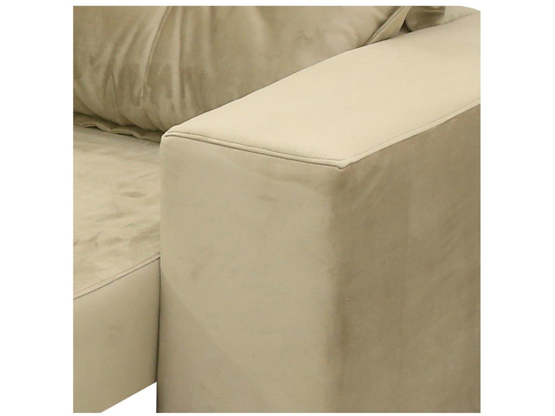 Foto 7 - Sofá Retrátil Reclinável 3 Lugares Veludo - Dallas Conect Casa Nobre Estofados com Entrada USB