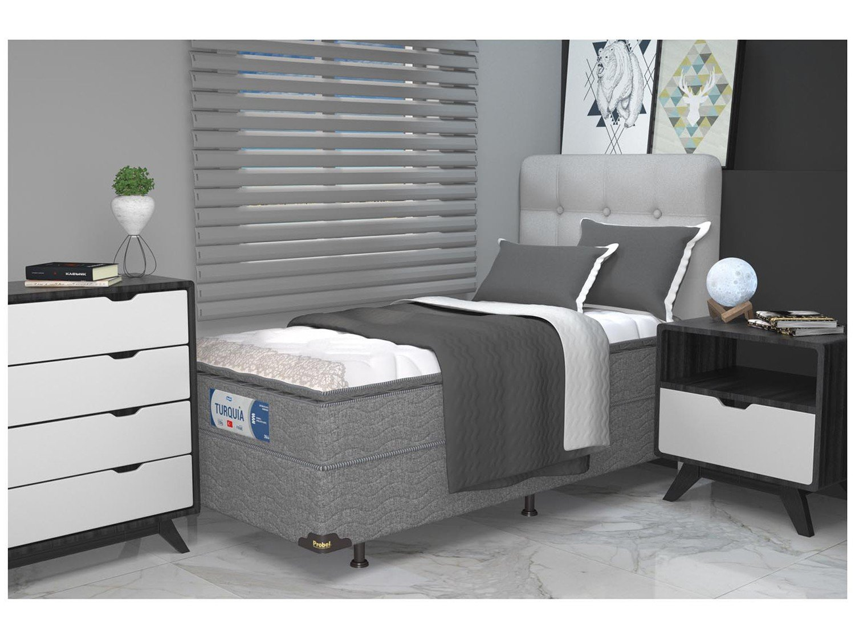 Base Cama Box Solteiro Probel 26cm de Altura - PA49277 - 1
