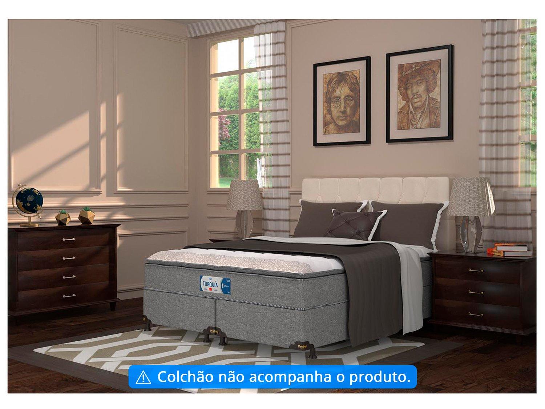 Base Cama Box Queen Size Probel Bipartido - 26cm de Altura PA49278 - 1