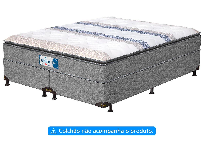 Base Cama Box Queen Size Probel Bipartido - 26cm de Altura PA49278 - 4