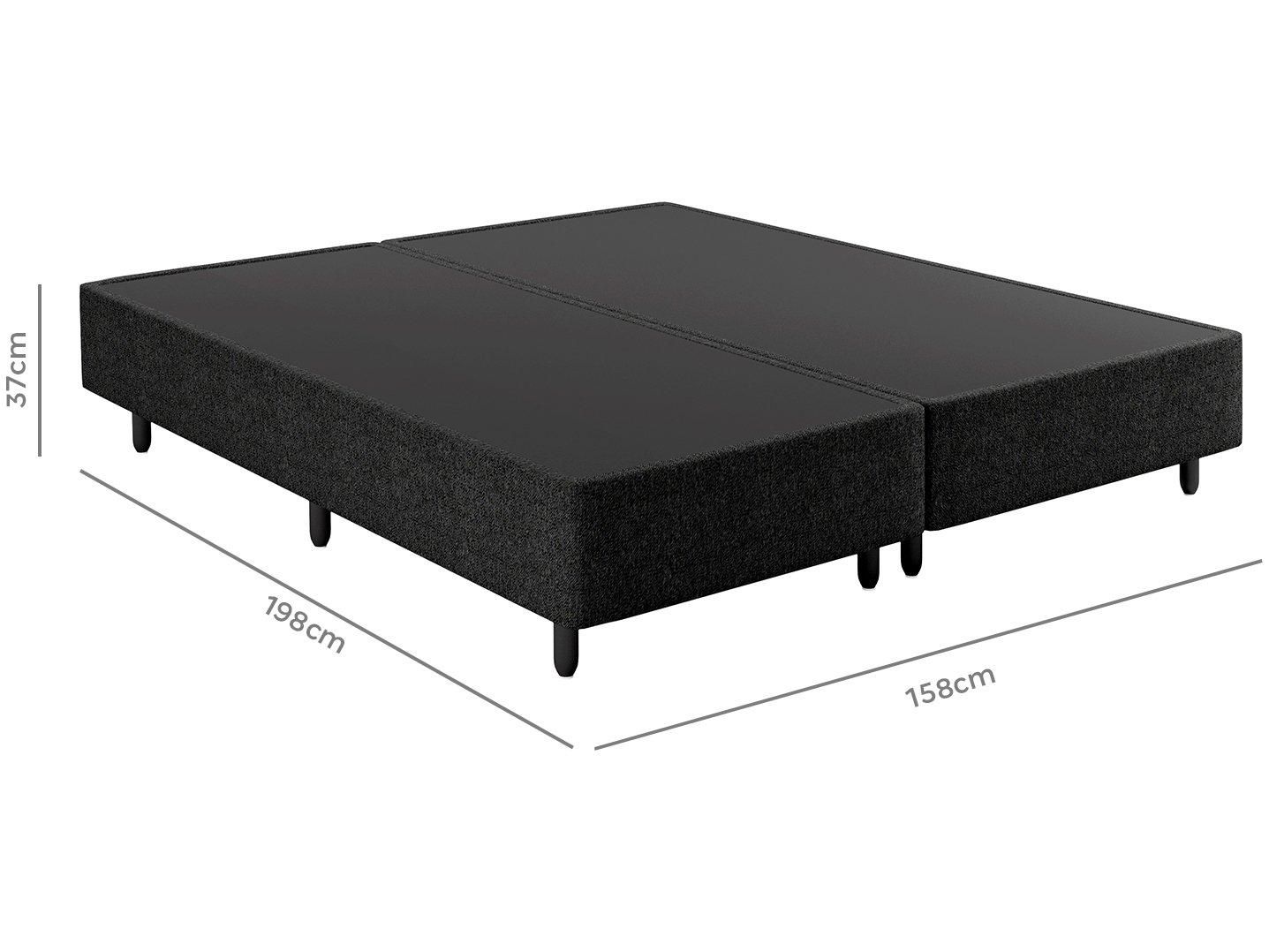 Base Cama Box Queen Size Plumatex Bipartido - 37cm de Alt. Dallas - 3