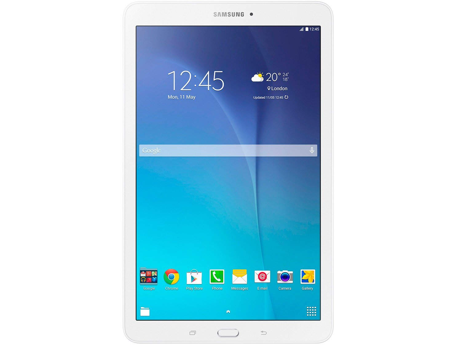 Foto 2 - Tablet Samsung Galaxy Tab E T560 8GB 9,6 Wi-Fi - Android 4.4 Proc. Quad Core Câm. 5MP + Frontal