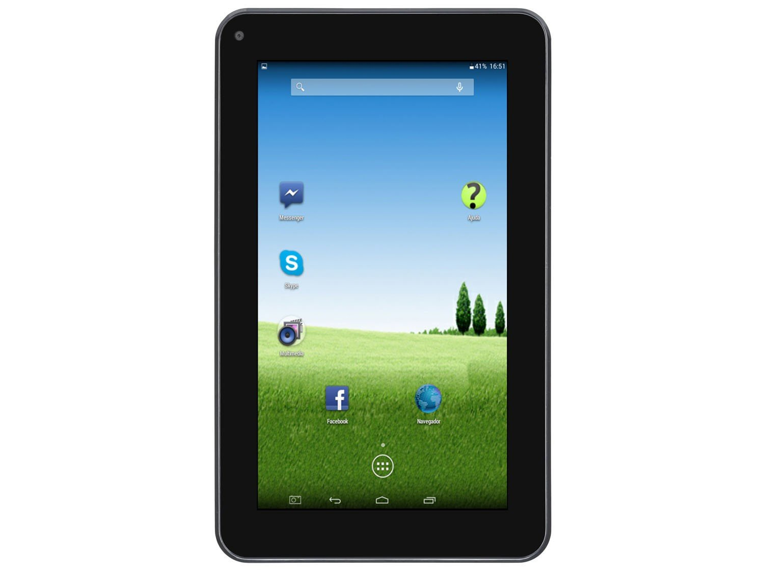 Foto 3 - Tablet DL e-Volution S 8GB 7 Wi-Fi Android 4.4 - Proc. Dual Core Câmera Integrada