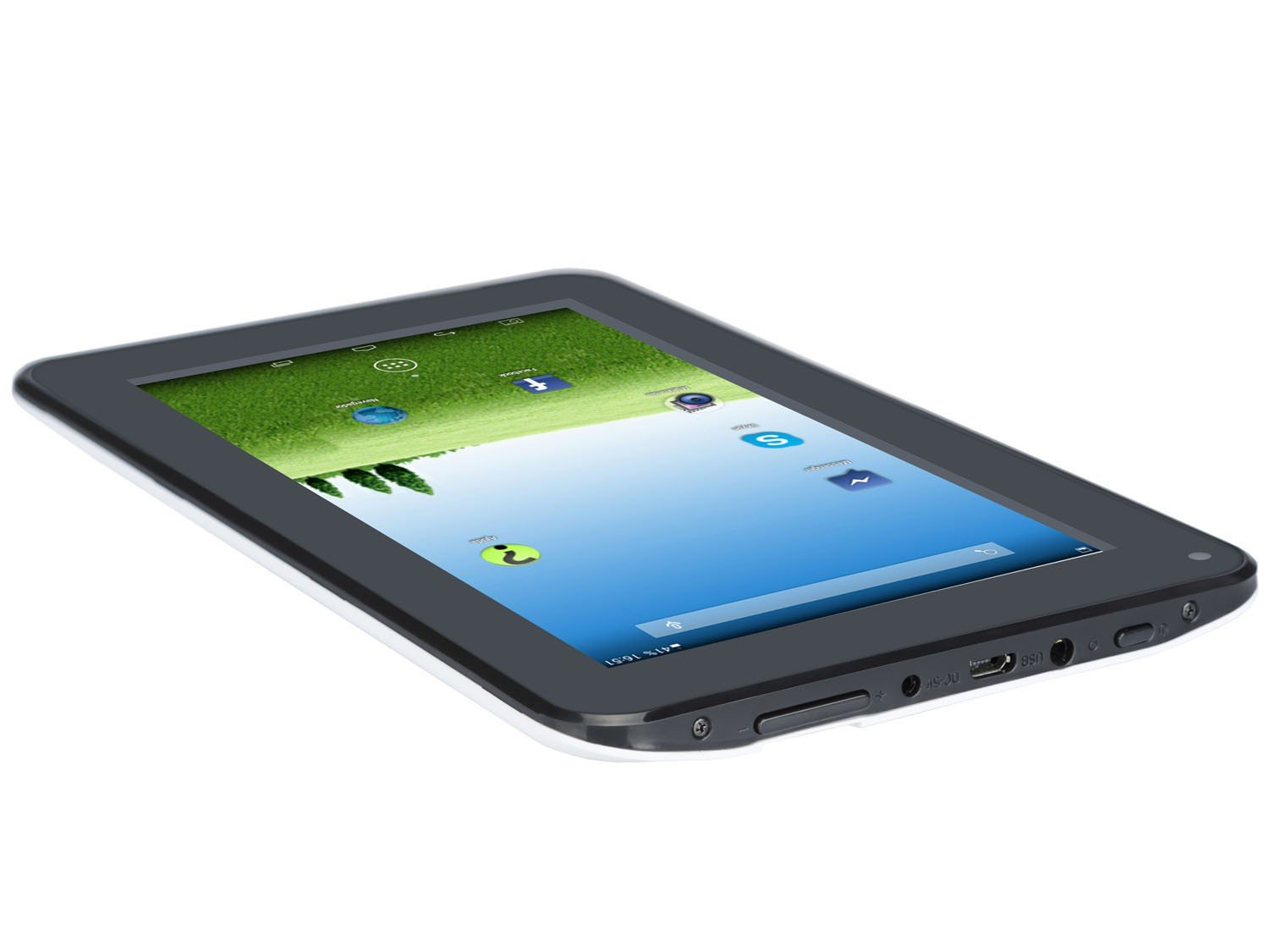 Foto 5 - Tablet DL e-Volution S 8GB 7 Wi-Fi Android 4.4 - Proc. Dual Core Câmera Integrada