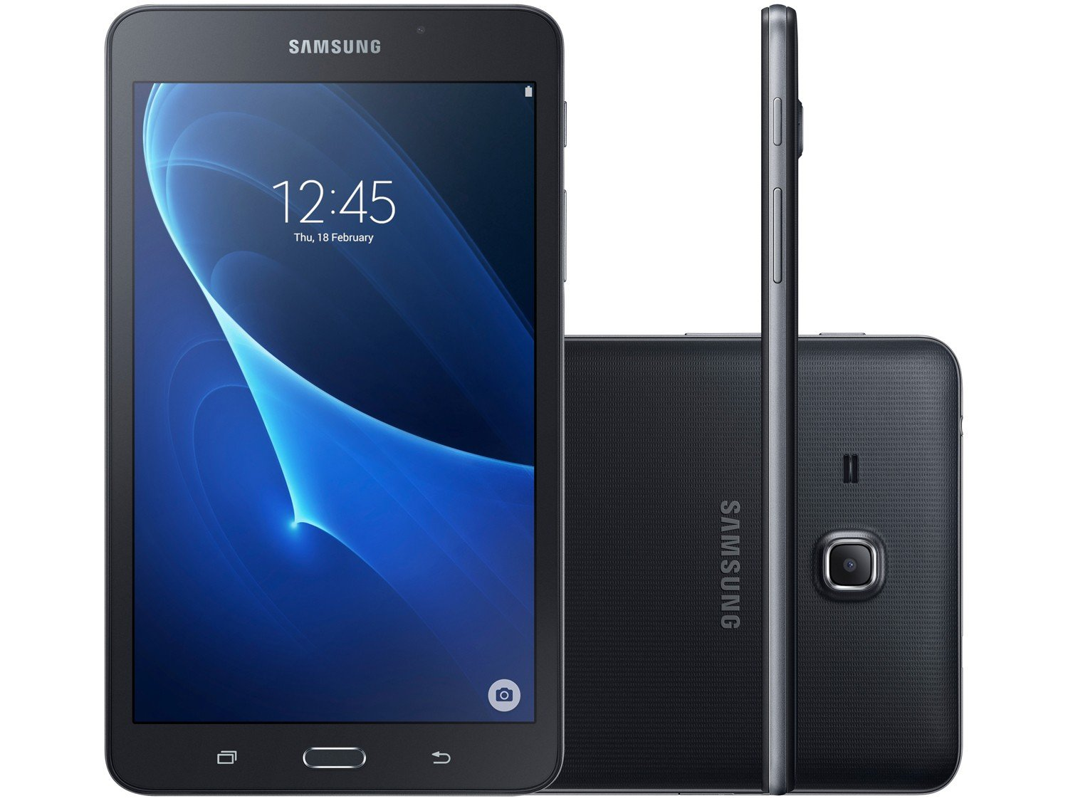 Foto 1 - Tablet Samsung Galaxy Tab A T285 8GB 7 4G Wi-Fi - Android 5.1 Proc. Quad Core Câmera 5MP + Frontal