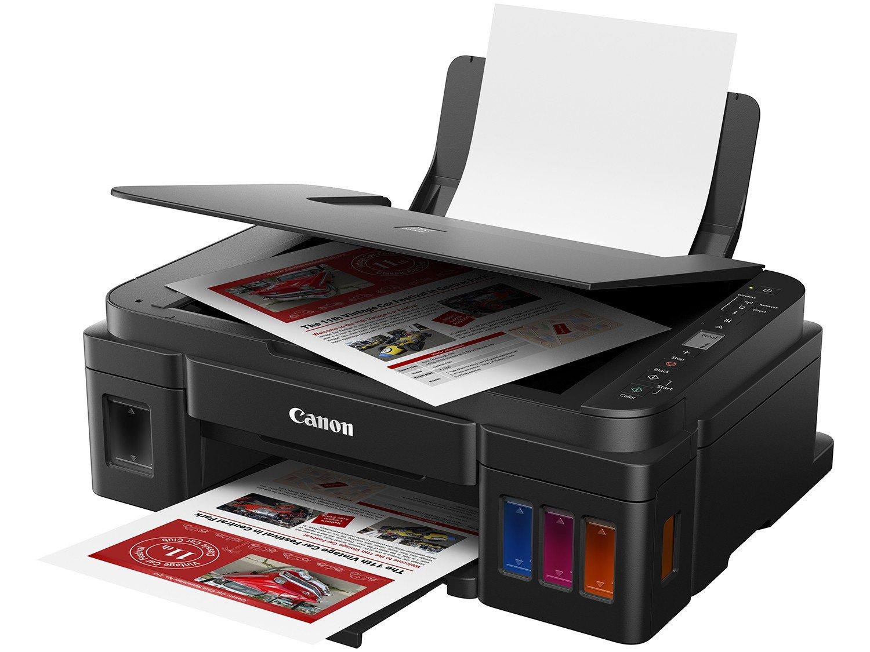Foto 2 - Impressora Multifuncional Canon G3110 - Tanque de Tinta Colorida Wi-Fi USB