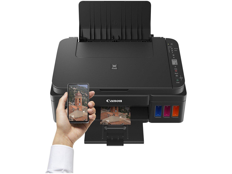 Foto 4 - Impressora Multifuncional Canon G3110 - Tanque de Tinta Colorida Wi-Fi USB