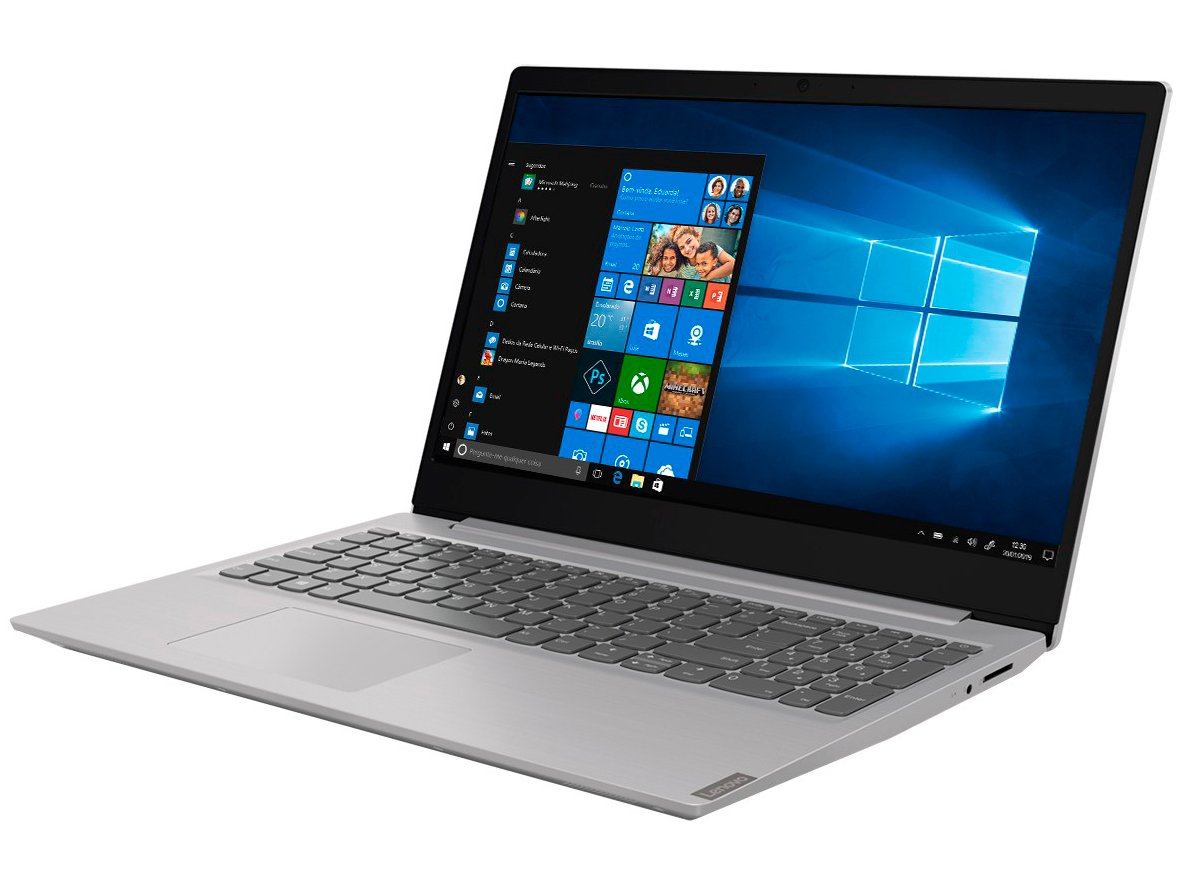 """Notebook Lenovo Core i3-8130U 4GB 1TB Tela 15.6"""" Windows 10 Ideapad S145 - 8"""