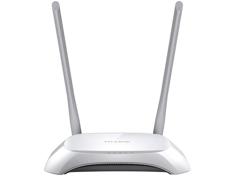 Foto 2 - Roteador Wireless Tp-link TL-WR840N 300mbps - 2 Antenas 5 Portas