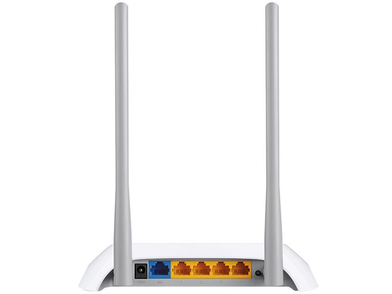 Foto 3 - Roteador Wireless Tp-link TL-WR840N 300mbps - 2 Antenas 5 Portas