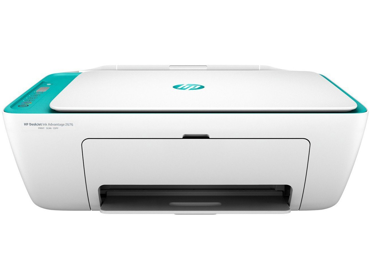 Foto 3 - Impressora Multifuncional HP Deskjet Ink Advantage - 2676 Jato de Tinta Wi-Fi Colorida USB