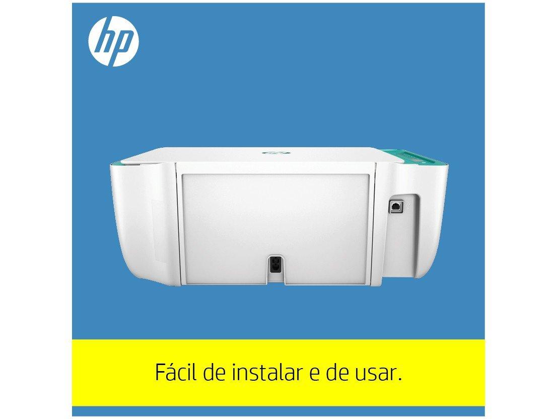 Foto 7 - Impressora Multifuncional HP DeskJet Ink 2676 - Jato de Tinta Colorida Wi-Fi USB