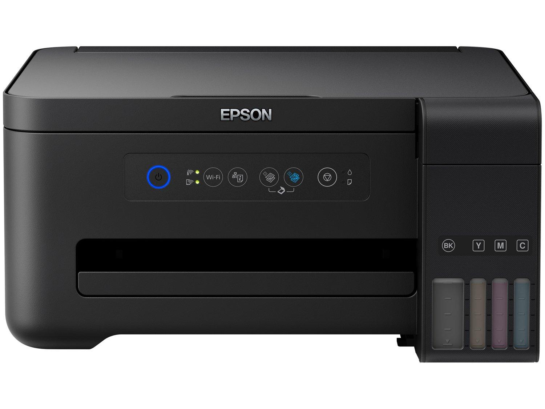 Foto 2 - Impressora Multifuncional Epson EcoTank L4150 - Tanque de Tinta Wi-Fi Colorida USB