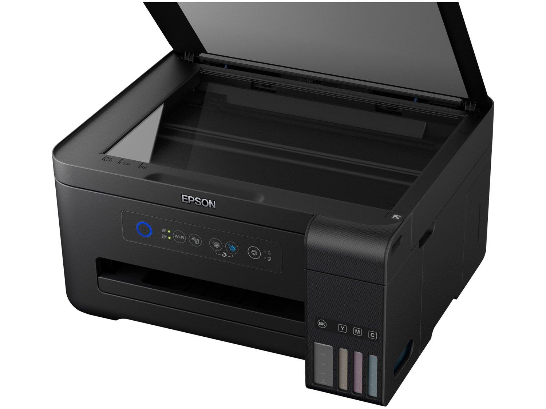 Foto 6 - Impressora Multifuncional Epson EcoTank L4150 - Tanque de Tinta Wi-Fi Colorida USB