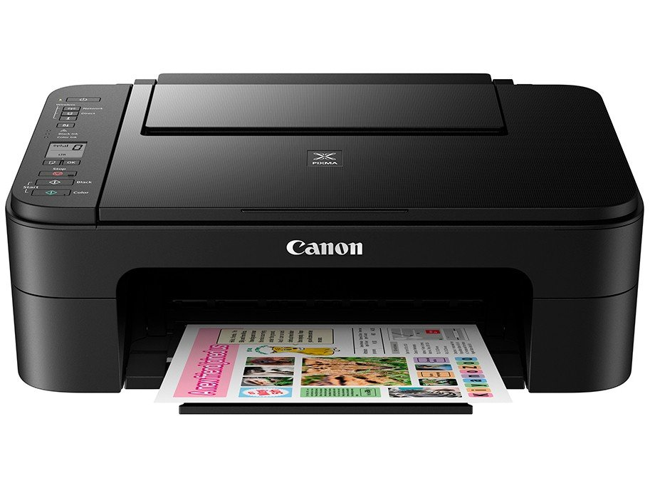 Foto 2 - Impressora Multifuncional Canon TS 3110 - Jato de Tinta Wi-Fi Colorida LCD 1,5 USB