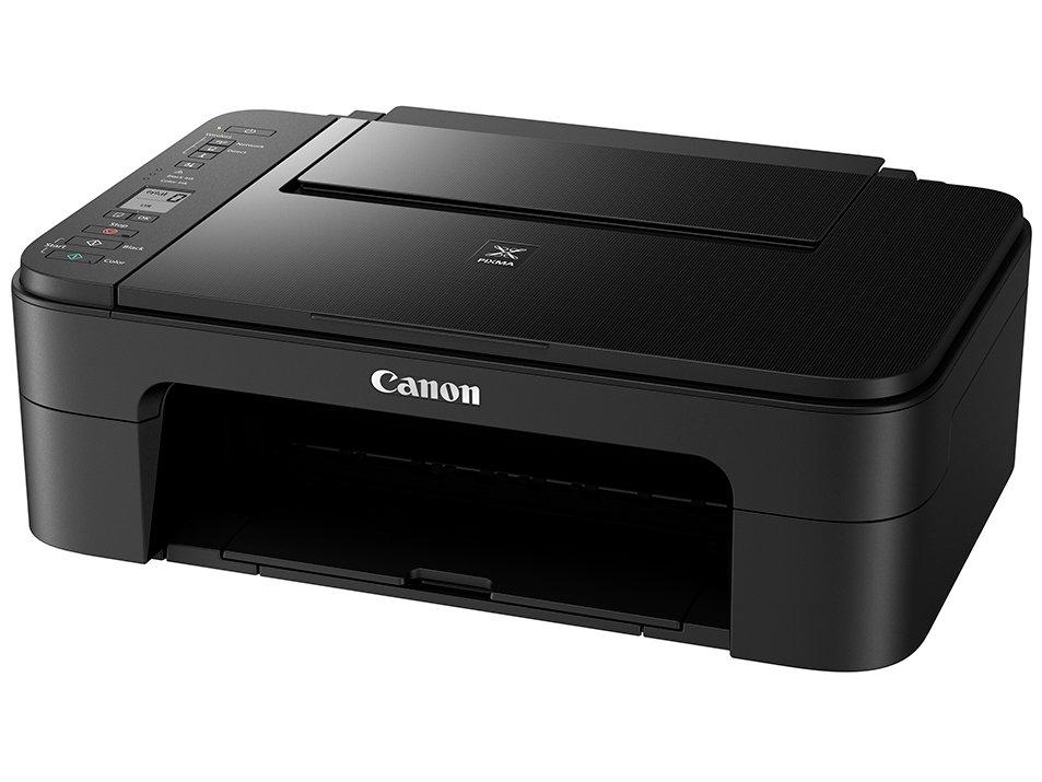 Foto 4 - Impressora Multifuncional Canon TS 3110 - Jato de Tinta Wi-Fi Colorida LCD 1,5 USB
