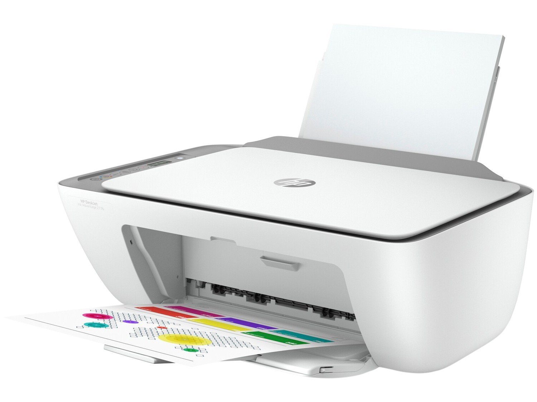 Impressora Multifuncional HP DeskJet Ink Advantage - 2776 Jato de Tinta Colorida Wi-Fi USB - Bivolt