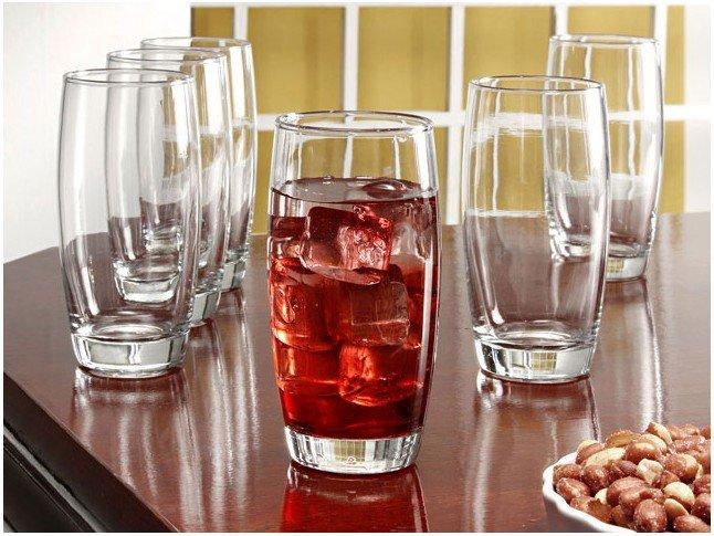Jogo de Copos de Vidro 400ml 6 Peças - Nadir Long Drink - 2