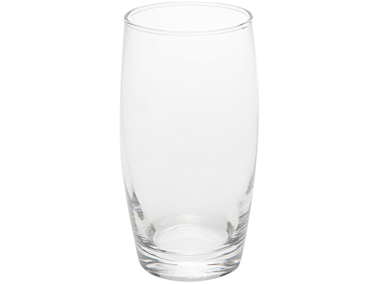 Jogo de Copos de Vidro 400ml 6 Peças - Nadir Long Drink - 3