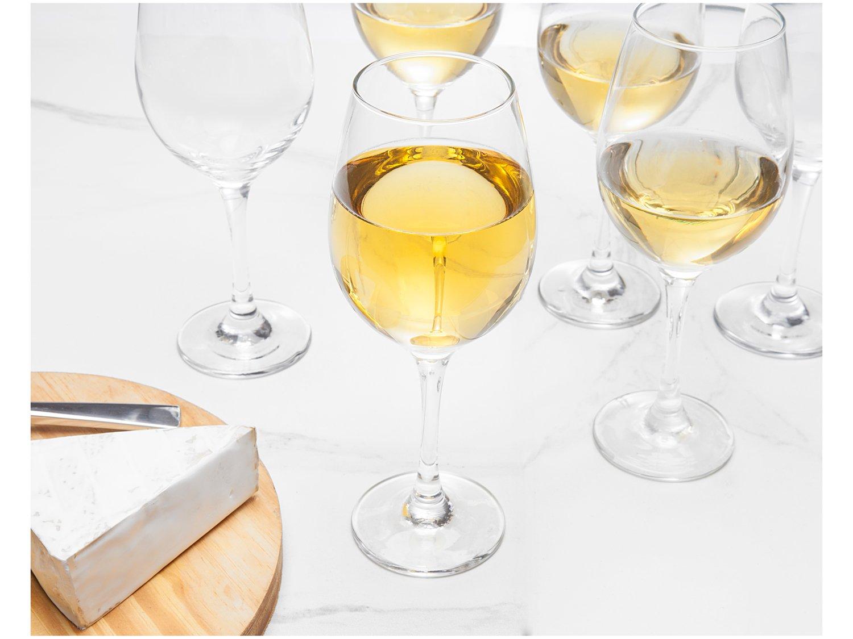 Jogo de Taças para Vinho Vidro 385ml 6 Peças - Nadir Barone - 2