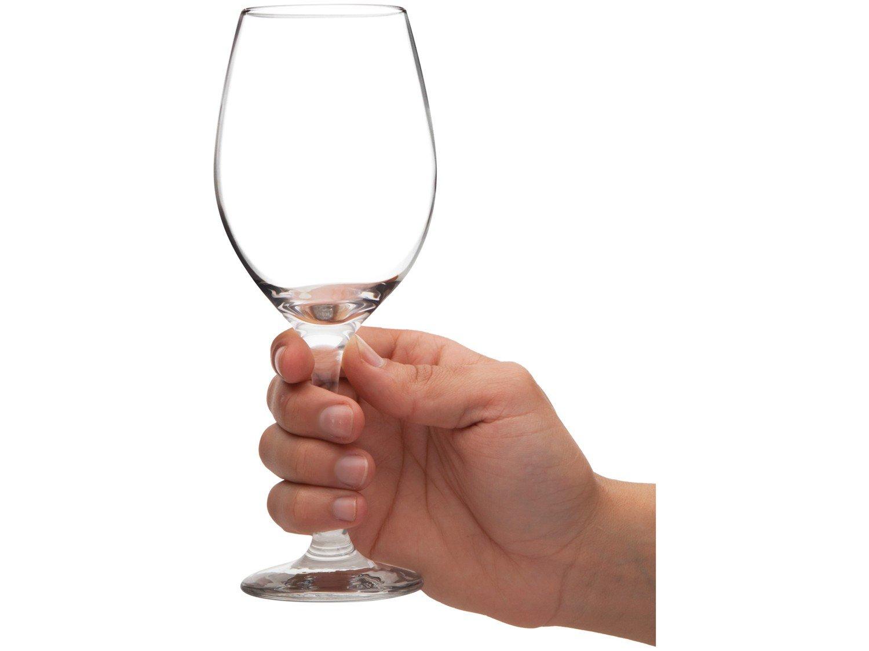 Jogo de Taças para Vinho Vidro 385ml 6 Peças - Nadir Barone - 4