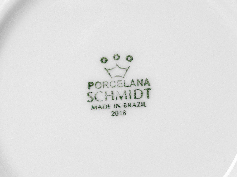 Jogo de Xícaras de Café Porcelana 4 Peças Schmidt - Basic 52910180070038102359 - 4
